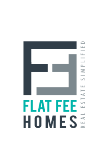 Flat Fee Homes Logo - We sell your property for a flat fee - Real Estate Agency Logo